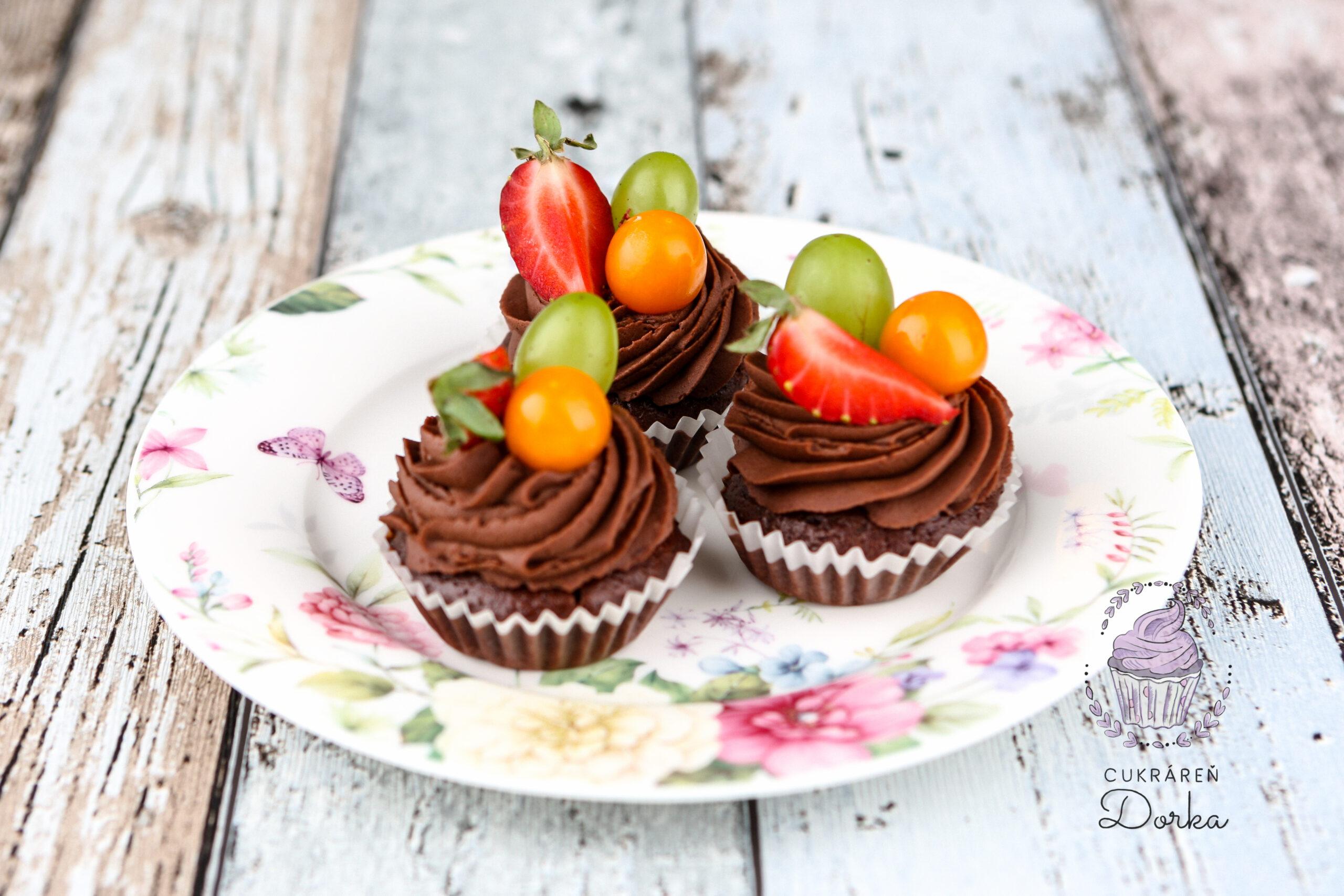Čokoládový cupcake