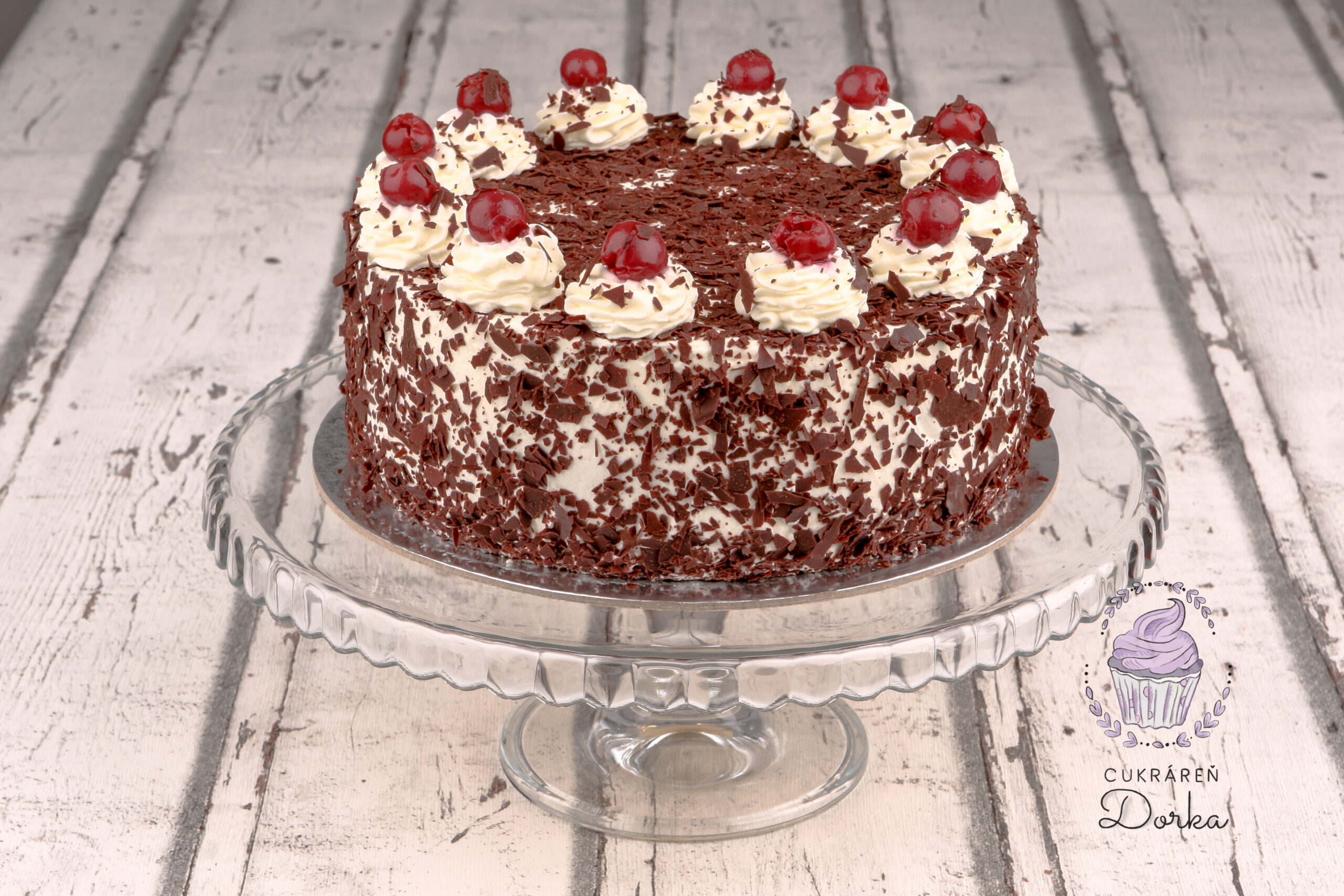 Schwarzwaldská torta