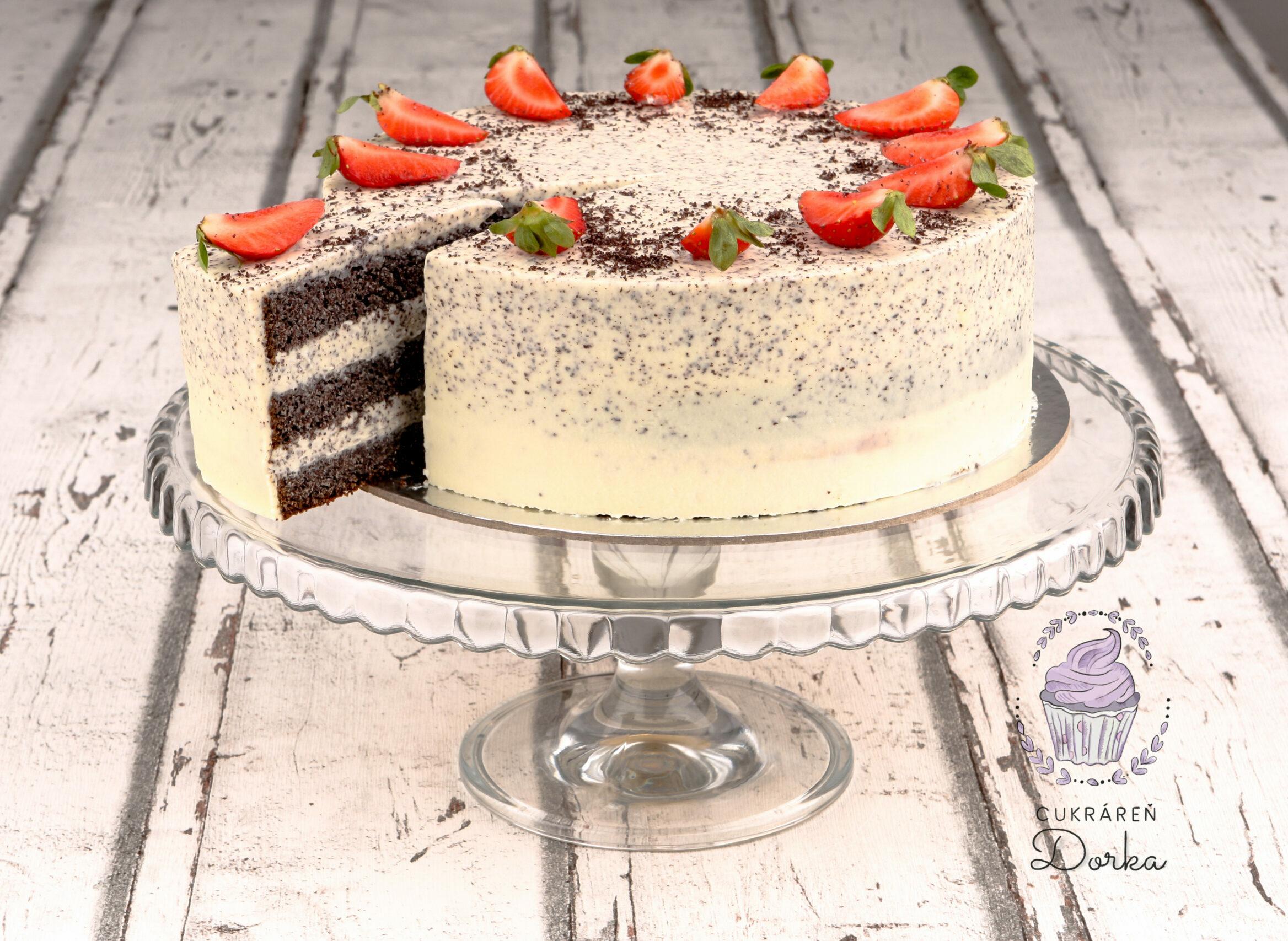 Maková torta bezlepková